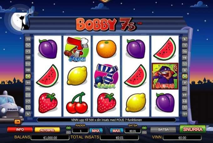 Bobby 7s Slot