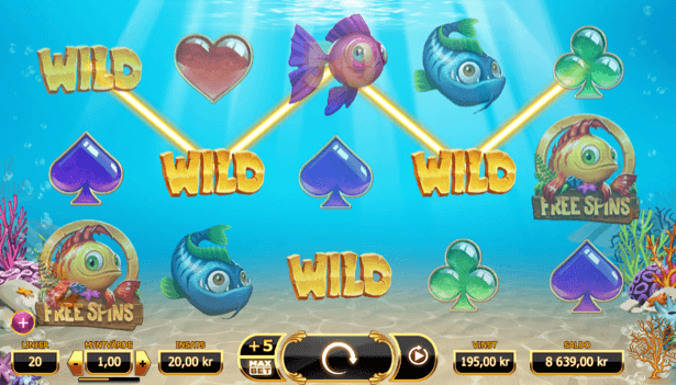 Golden Fish Tank Slot Yggrasil