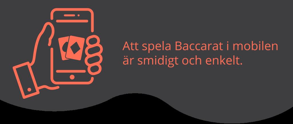 Baccarat i mobilen