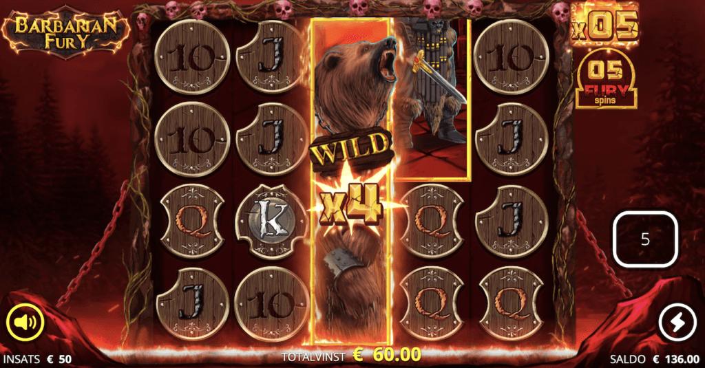 Barbarian Fury Wilds