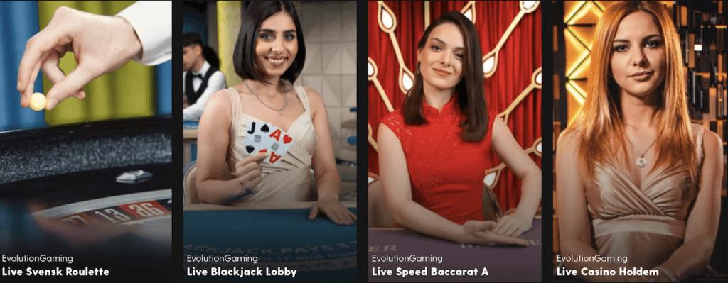 Bethard Live Casino