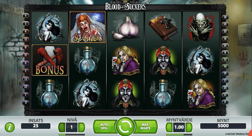 Blood Suckers spelplan.