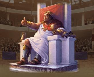 Champions of Rome bild från spelet.
