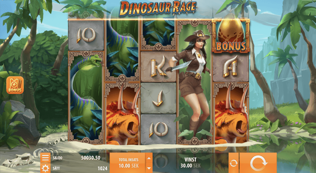Dinosaur Rage slot