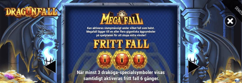 Dragonfall spelfunktioner