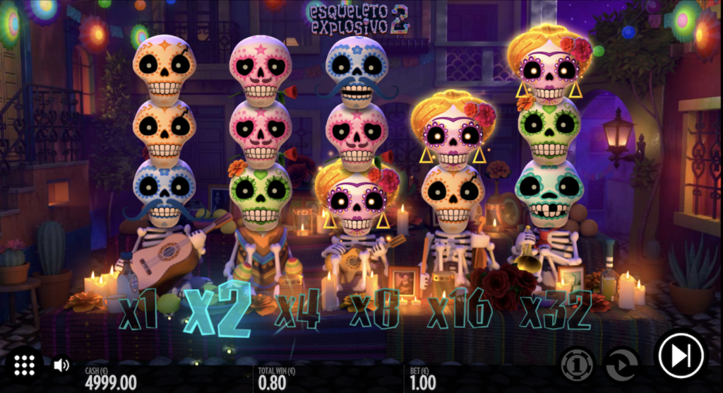 Thunderkick Esqueleto Explosivo 2