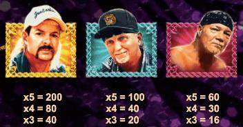 Joe Exotic högbetalande symboler.