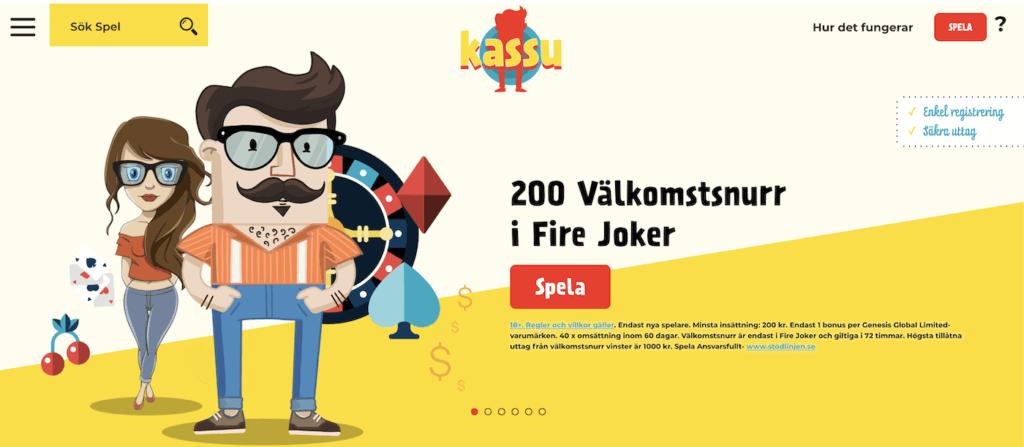 Kassu Casino utan konto