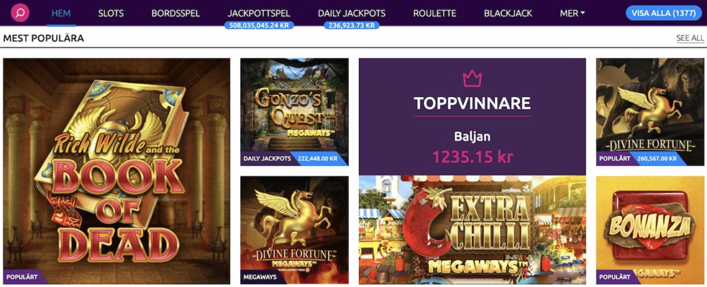 Lucky Vegas Spel