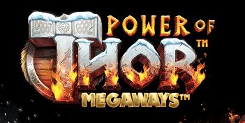 Power of Thor Megaways logga.