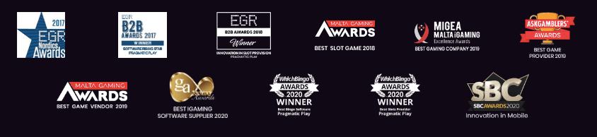 Pragmatic Play är ett prisbelönat spelföretag.