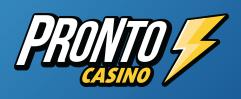 Pronto Casino Logga.