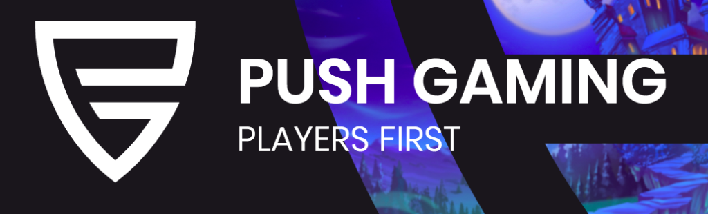 Push Gaming logga.