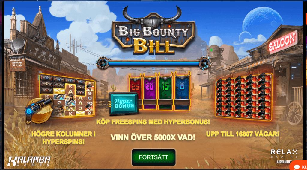 Big Bounty Bill bonus