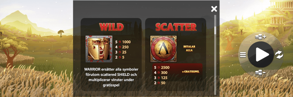 300 Shields Extreme wilds och scatters