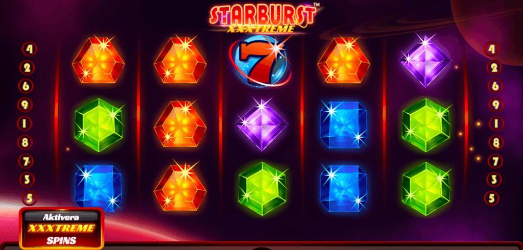 Starburst XXXtreme symboler