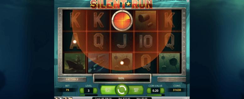 Silent Run spelplan.