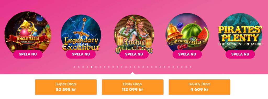 Lyllo Casino dagliga jackpottar