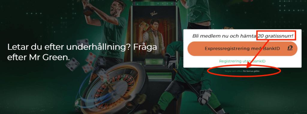 casino bonus utan omsättningskrav regler och villkor