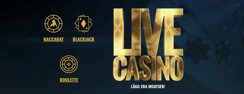 No Account Live Casino