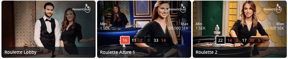 Pragmatic Play live casinospel