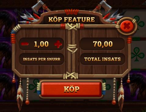 Spirit of the Beast köp free spins.
