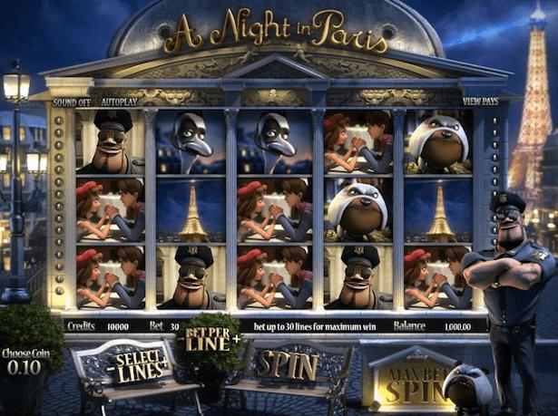 A Night in Paris Bonus