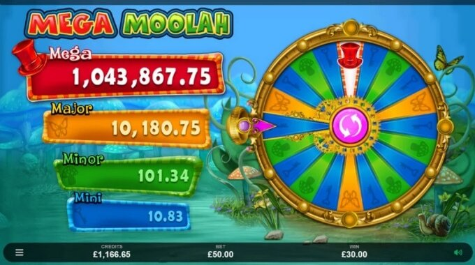 Absolootly Mad: Mega Moolah Slot Jackpot