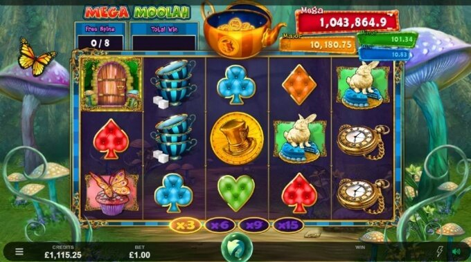 Absolootly Mad: Mega Moolah Slot Free Spins