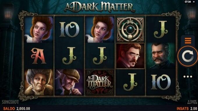 A Dark Matter Slot Bonus Game