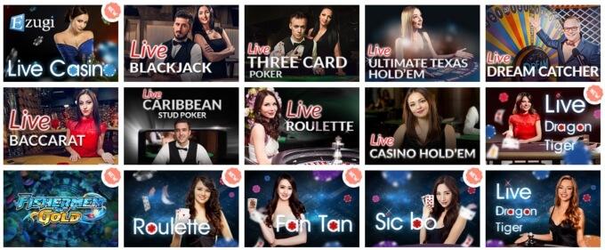 Alf Casino Live