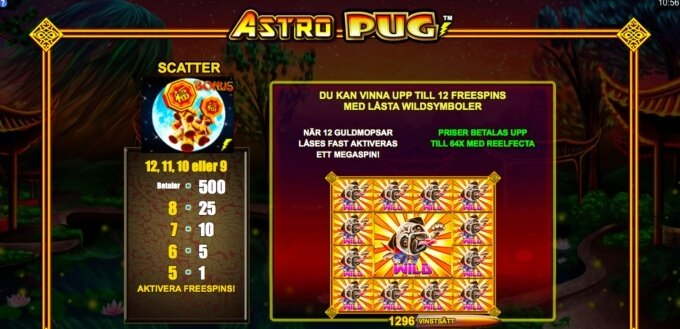 Astro Pug Free Spins