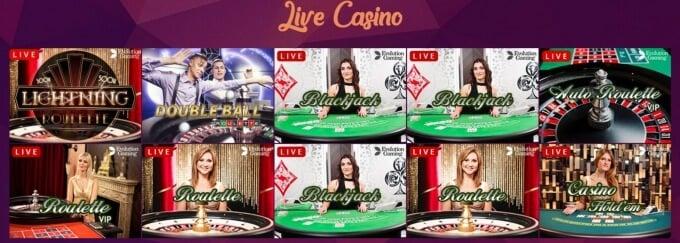 Bajungo Casino Live