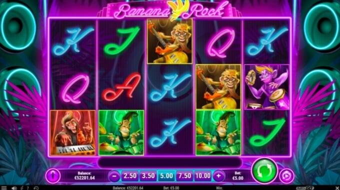 Banana Rock Slot Bonus