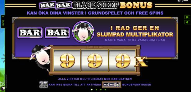 Bar Bar Black Sheep Bonus