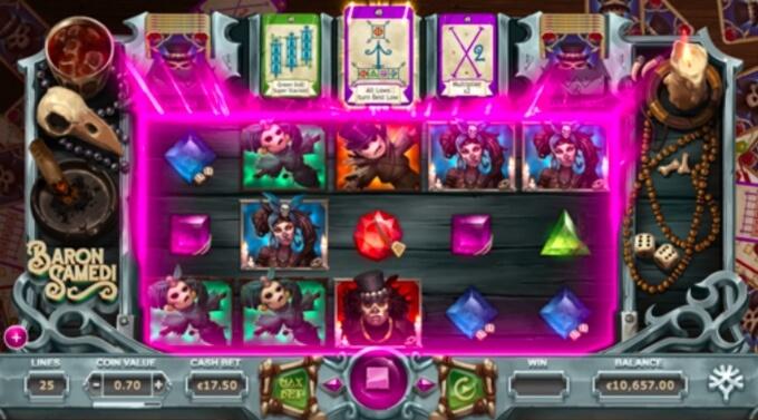 Baron Samedi Slot Free Spins
