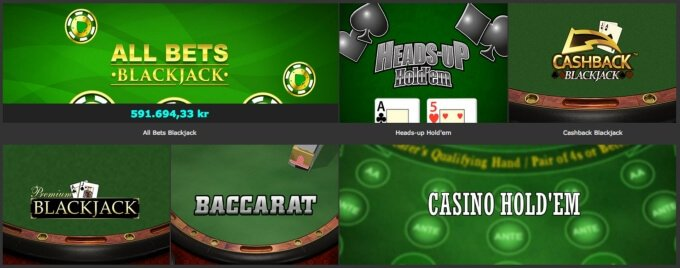 Bet365 Bordsspel