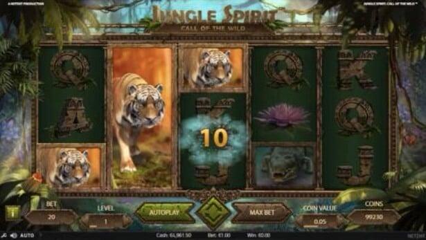 Jungle Spirit Casll of the Wild slot