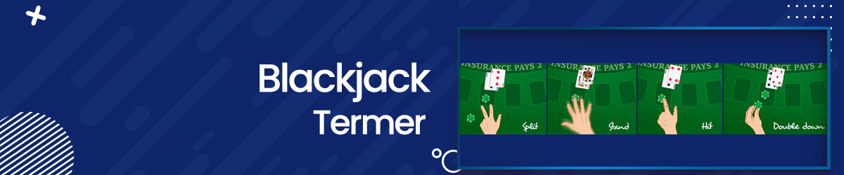 Blackjack termer