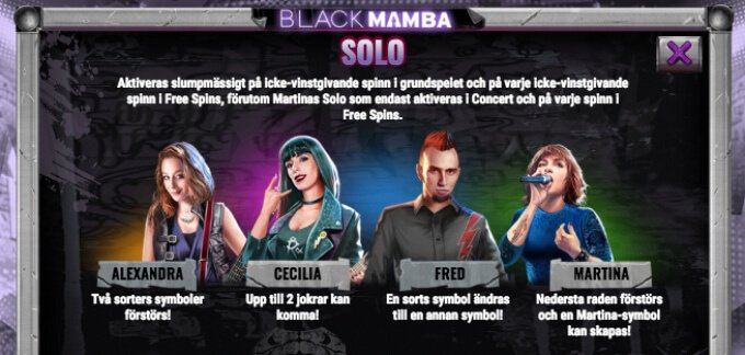 Black Mamba Slot Bonus Free Spins