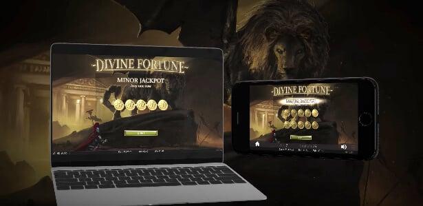 Bonusspel Divine Fortune Slot
