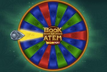Book of Atem WowPot jackpott.