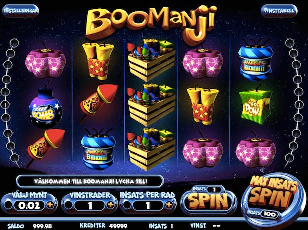 Boomanji Bonus