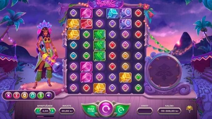 Brazil Bomba Slot Bonus Game