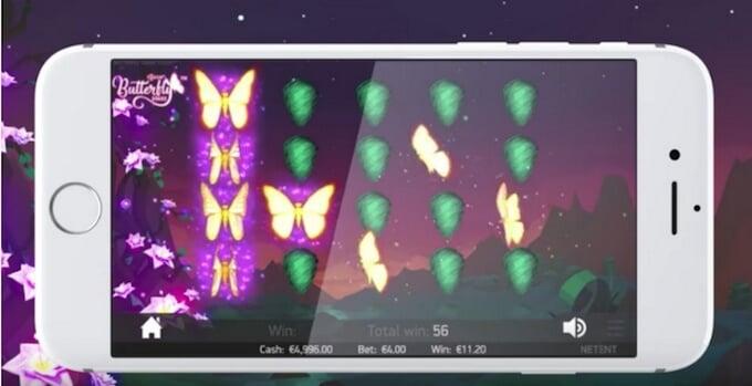 Butterfly Staxx slot – Spela i mobilen
