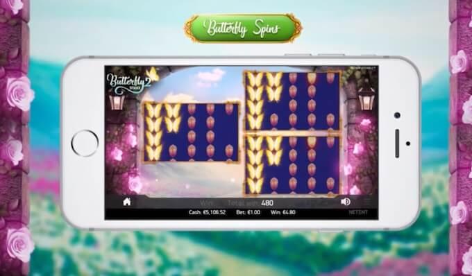 Butterfly Staxx 2 Butterfly Spins bonusspel