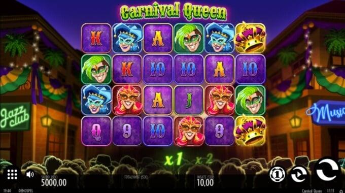 Carnival Queen Slot Bonus1