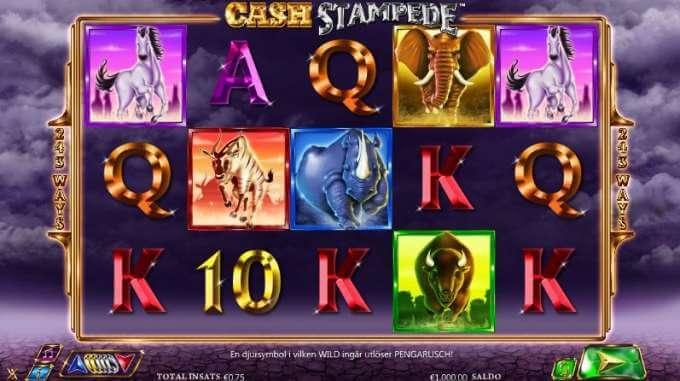Cash Stampede Slot Spel