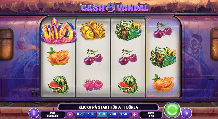 Cash Vandal slot.