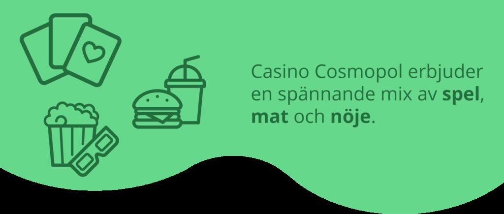 Casino Cosmopols utbud